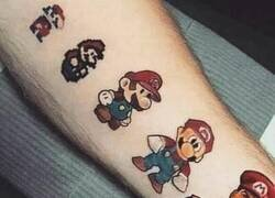 Enlace a La evolución de Mario