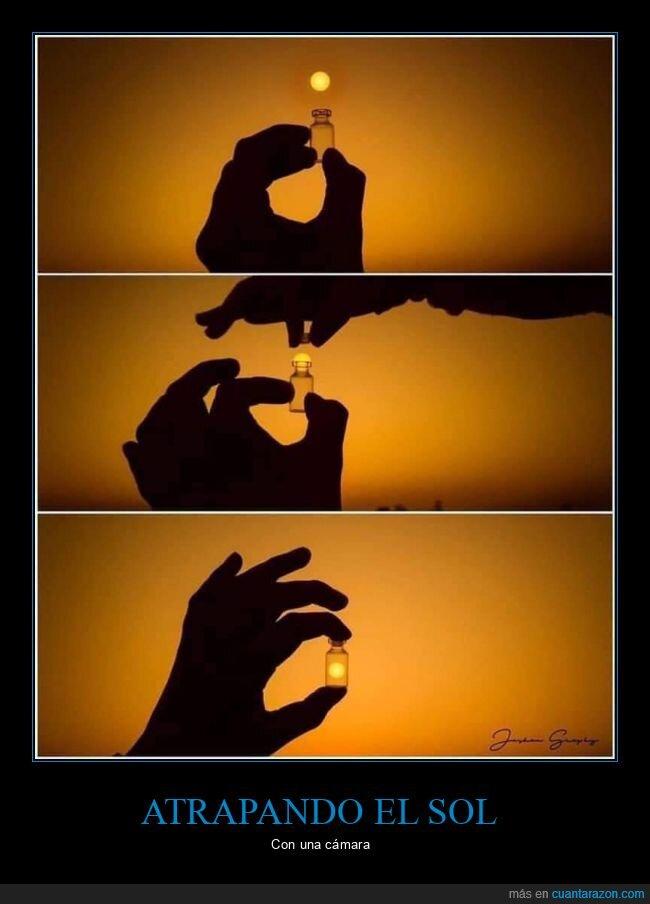 fotografía,frasco,sol