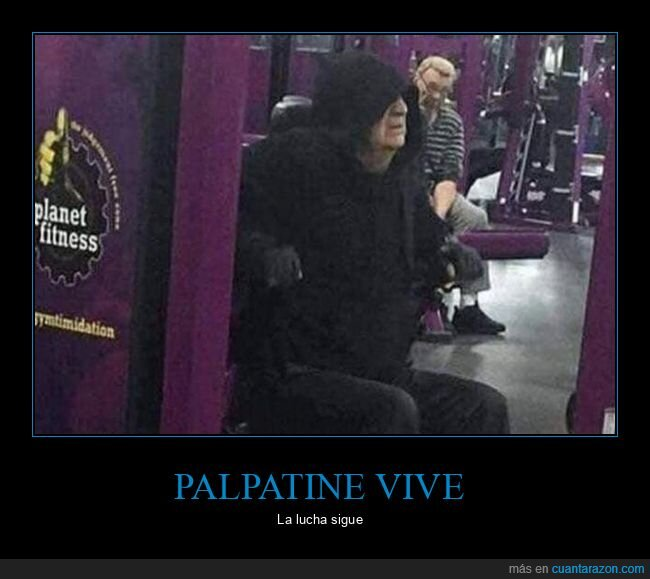 gym,palpatine,star wars