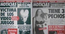 Enlace a Las mejores portadas del genial y surrealista periódico que existió hace muchos años: