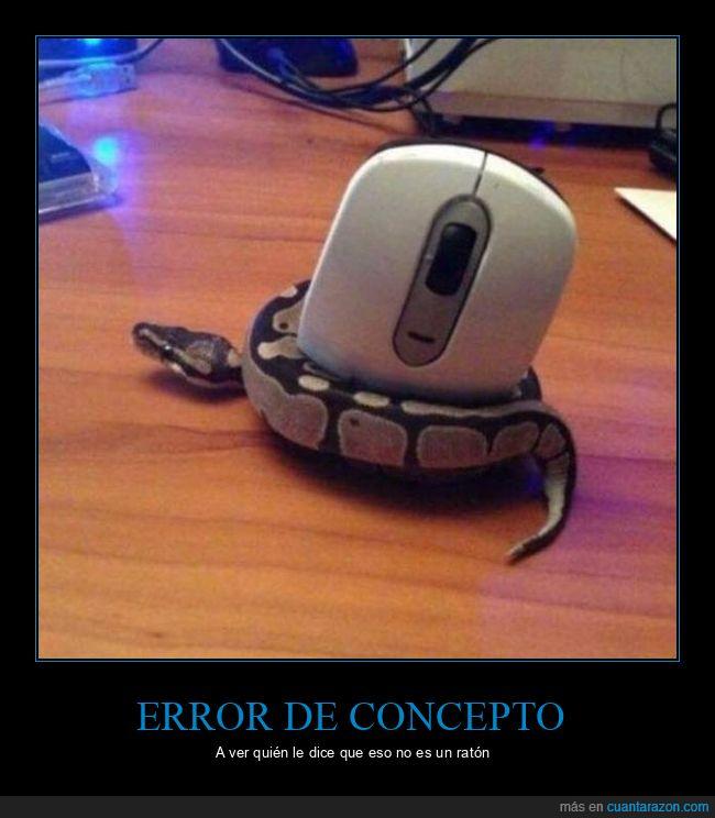 mouse,ratón,serpiente
