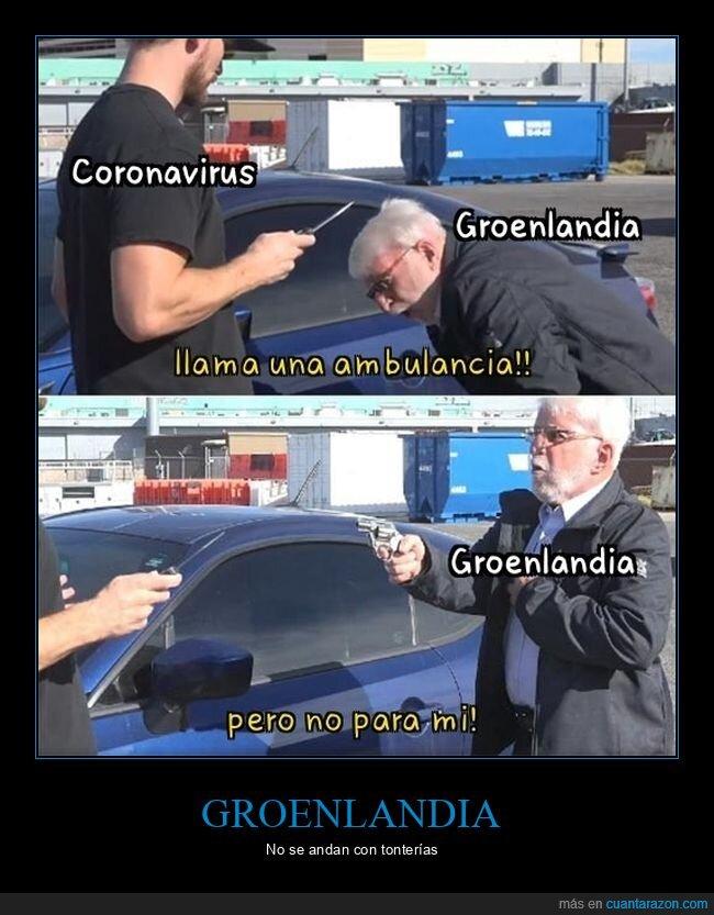 abuelo,arma,coronavirus,groenlandia