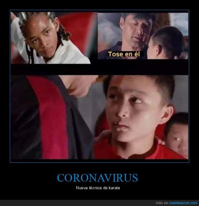 coronavirus,karate