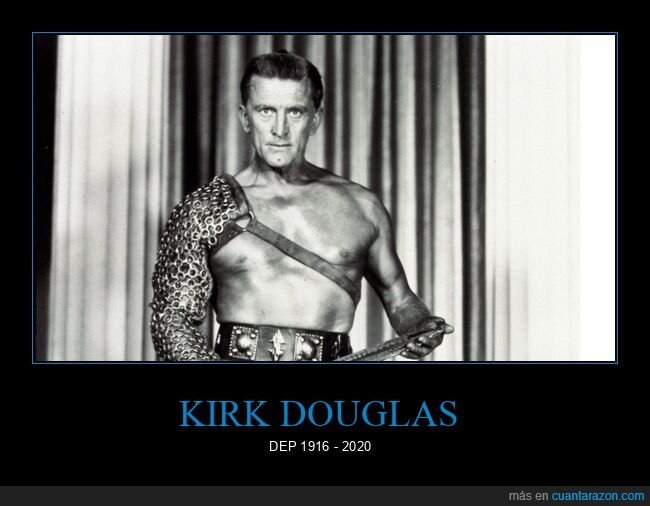 actor,dep,hollywood,Kirk Douglas