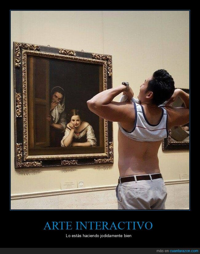 asombro,cuadro,enseñar,pintura
