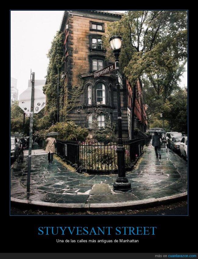 calle,nueva york,nyc,stuyvestant street