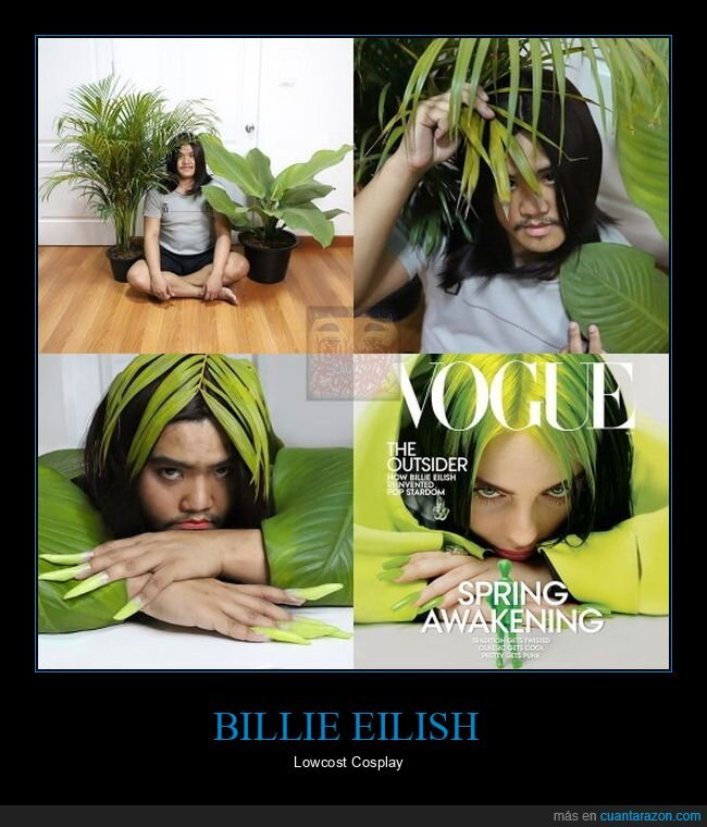billie eilish,cosplay,lowcost