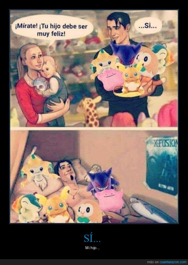 feliz,hijo,juguetes