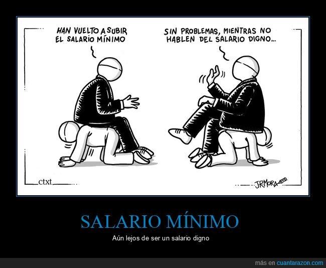 digno,salario,salario mínimo,subir