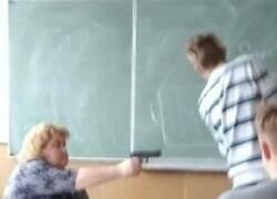 Enlace a A los profesores se les está agotando la paciencia...