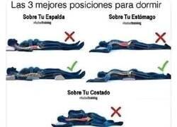 Enlace a Cómo dormir correctamente