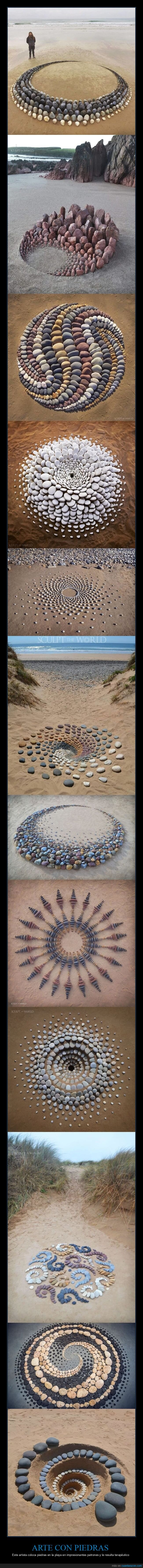 arte,piedras,playa