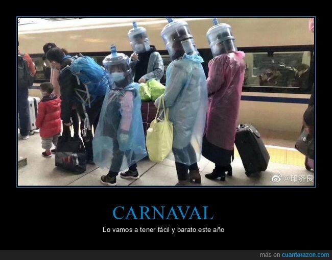 carnaval,chinos,coronavirus