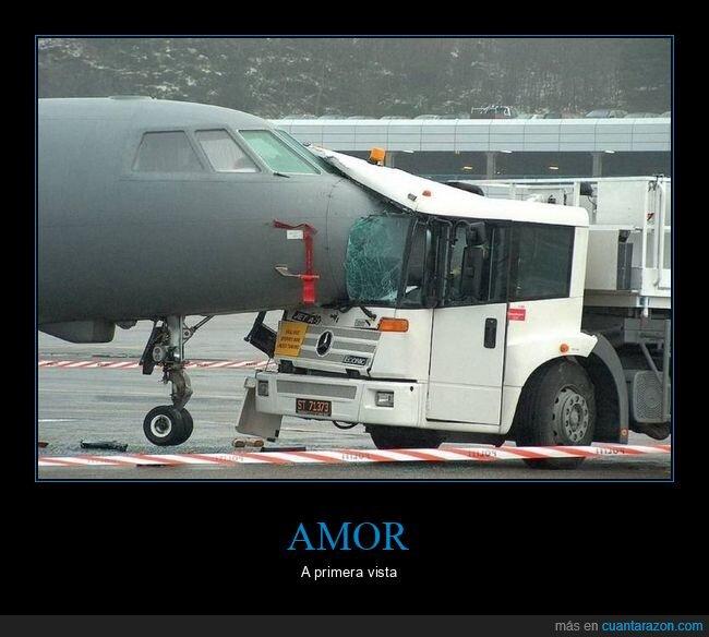 avión,camión,fails