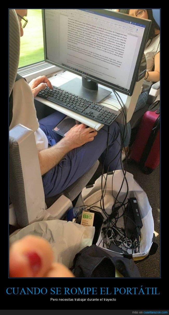 ordenador,tren,wtf