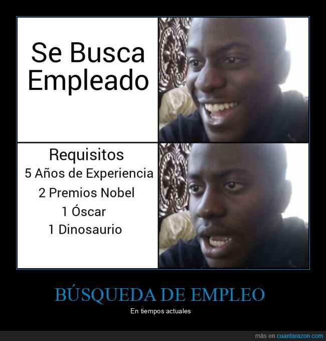 empleo,mundo laboral,requisitos