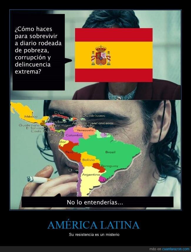américa latina,españa,joker,no lo entenderías