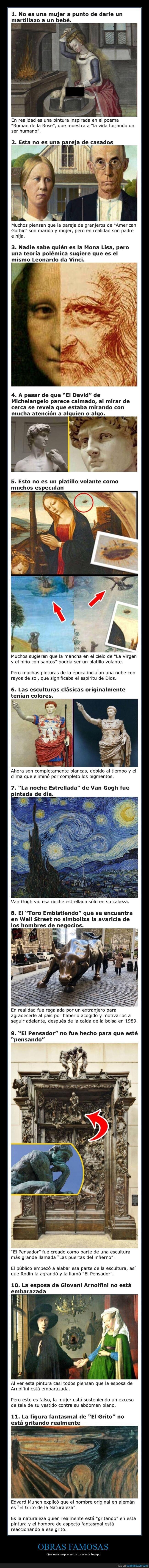 arte,malinterpretadas,obras