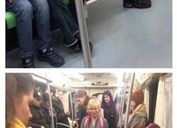 Enlace a Situaciones y personas que sólo puedes encontrar en el metro