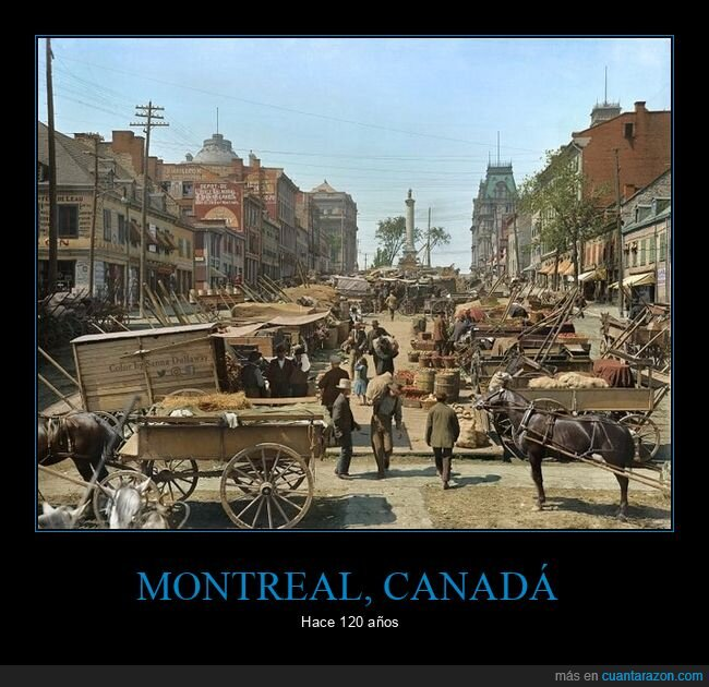 120 años,canadá,montreal,retro