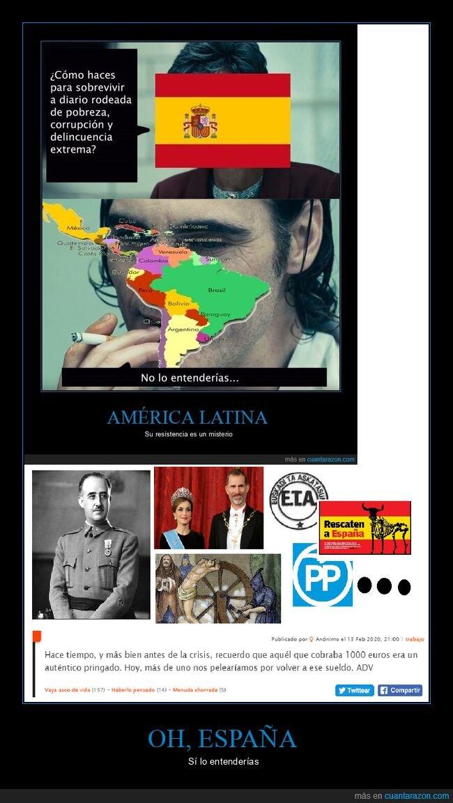 entender,españa,latinoamérica,pobreza
