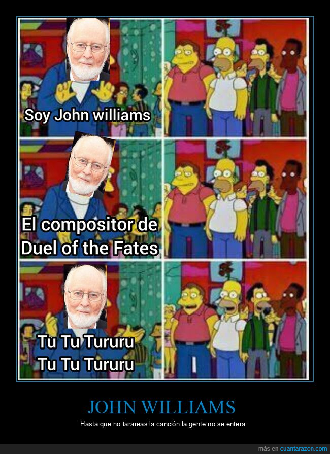 compositor,duel of the fates,john williams,simpsons,star wars