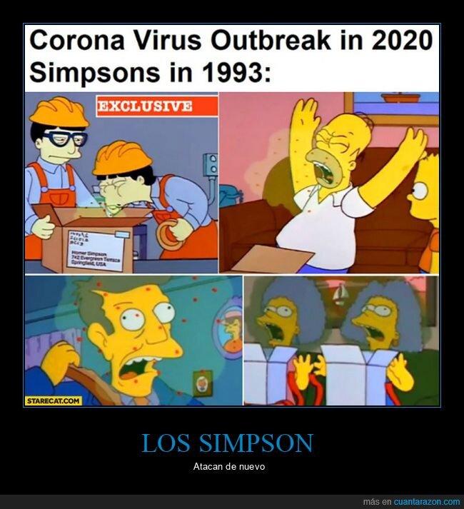 coronavirus,simpsons