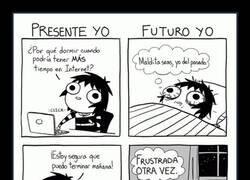 Enlace a Presente VS Futuro