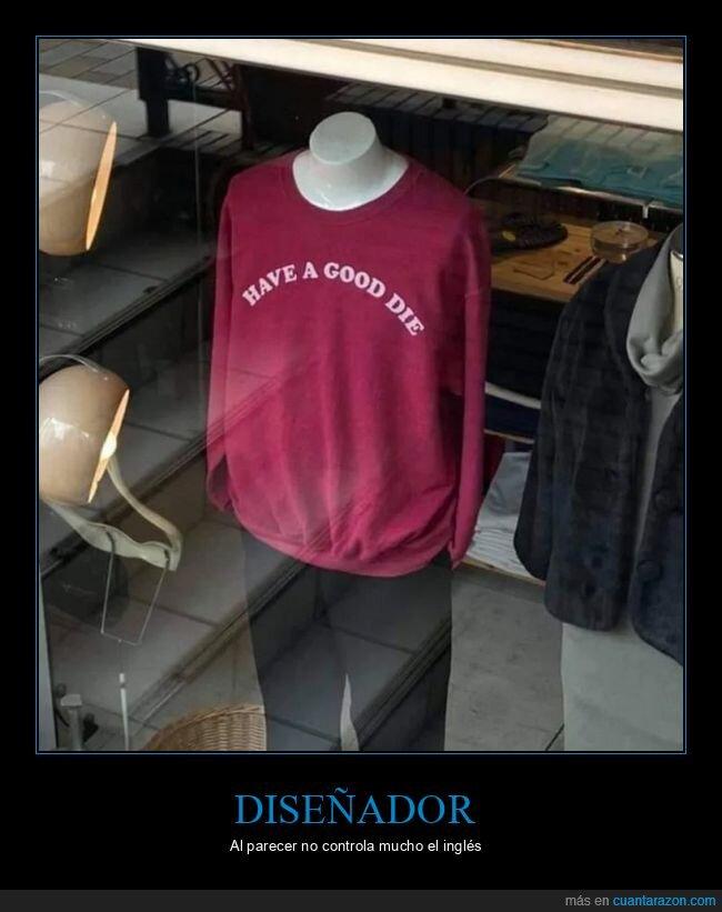 camiseta,fails,inglés