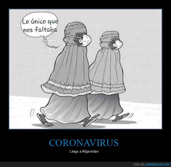 afganistán,burka,coronavirus,mascarilla