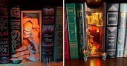 Enlace a Separadores de estantería que encantarán a los amantes de los libros