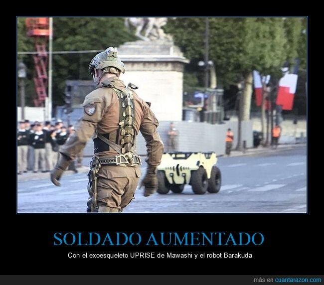 aumentado,exoesqueleto,robot,soldado