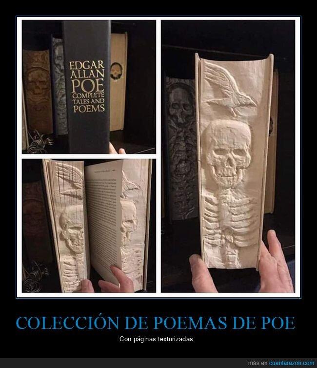 edgar allan poe,libro,páginas,poemas