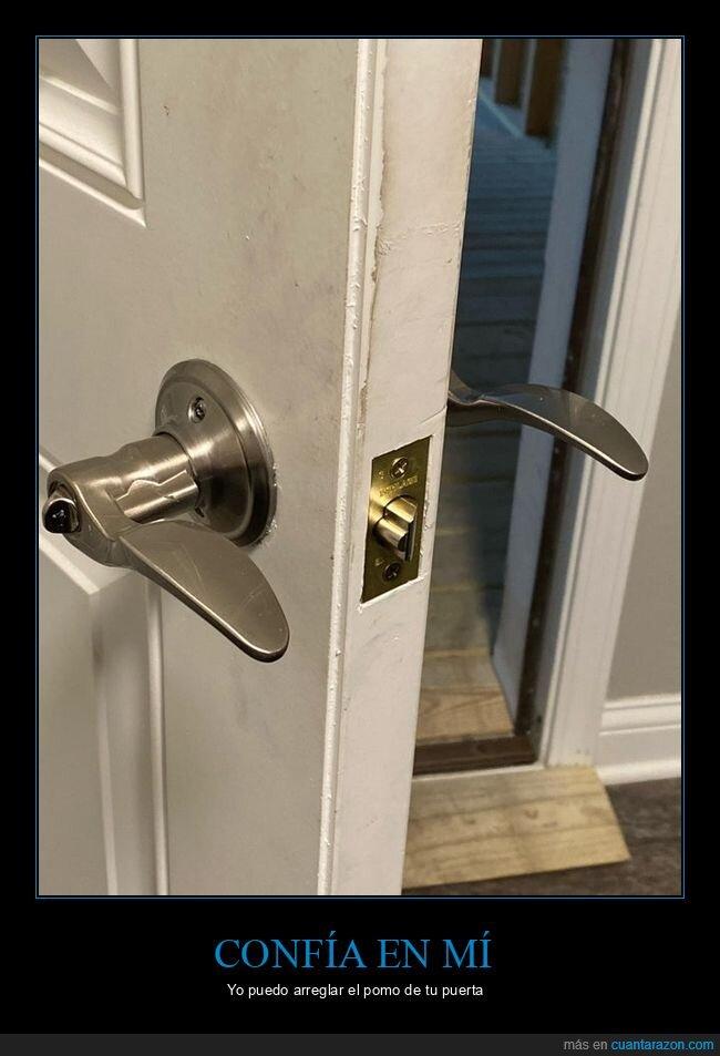 fails,pomo,puerta