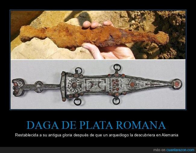 daga,restauración,romana