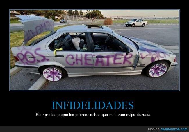 coche,infiel,pintado