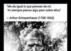 Enlace a A Schopenhauer no le importaba lo que pensasen los demás