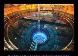 Enlace a El particular brillo azulado que caracteriza la radiación de Cherenkov