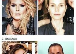 Enlace a Comparaciones de cómo se ven las famosas en las portadas de revistas y en la vida real