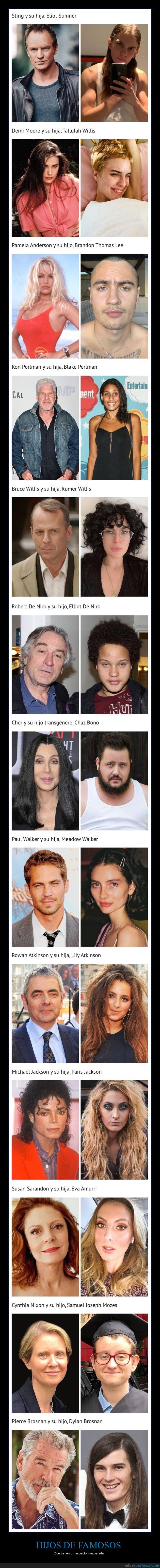 aspecto,famosos,hijos