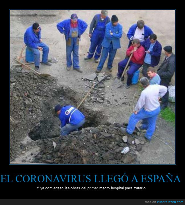 coronavirus,españa,hospital,obras