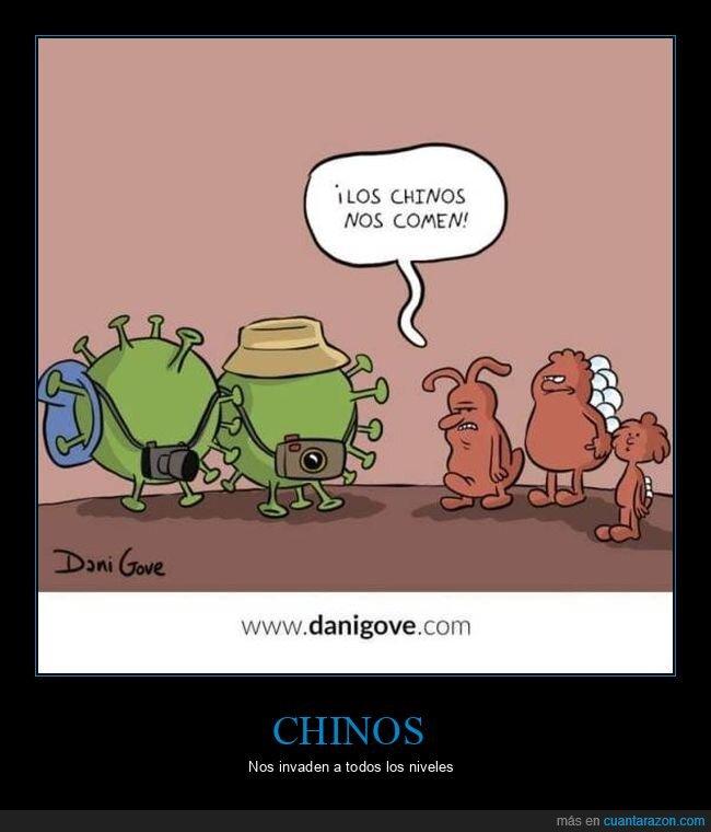 chinos,coronavirus