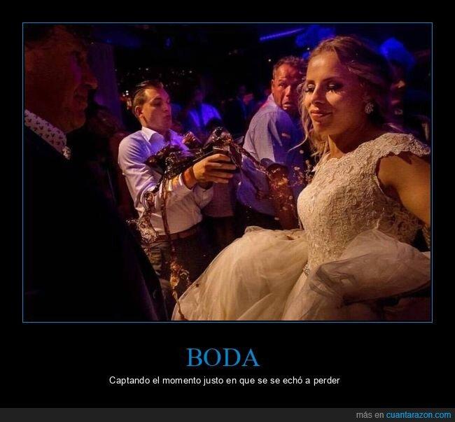 boda,fails,momento exacto