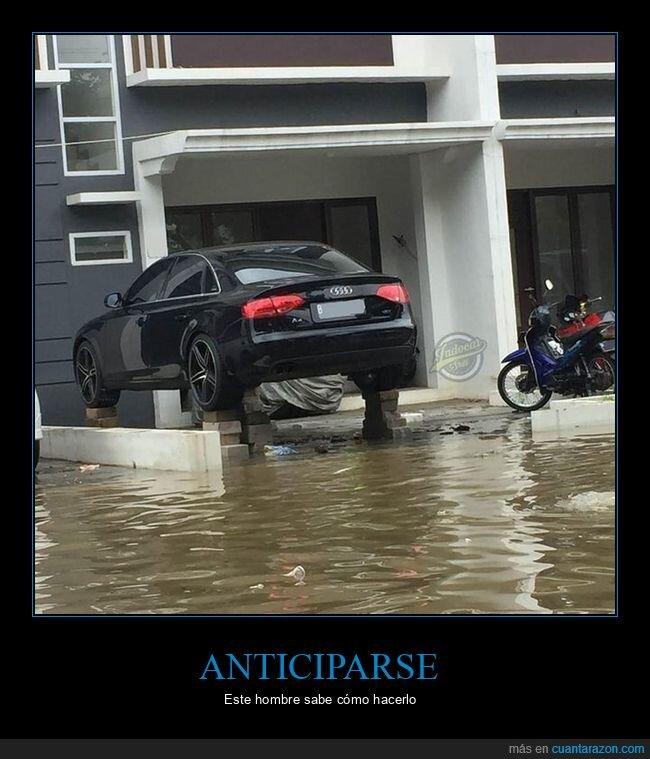 coche,inundación,win