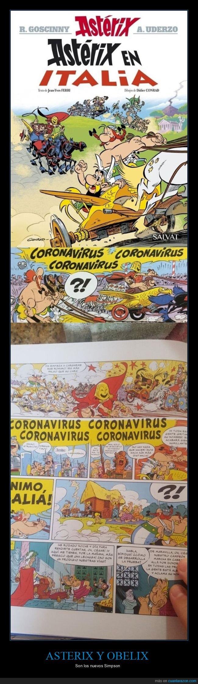 asterix,coronavirus,wtf