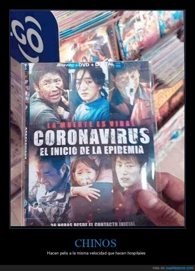 chinos,coronavirus,película,wtf