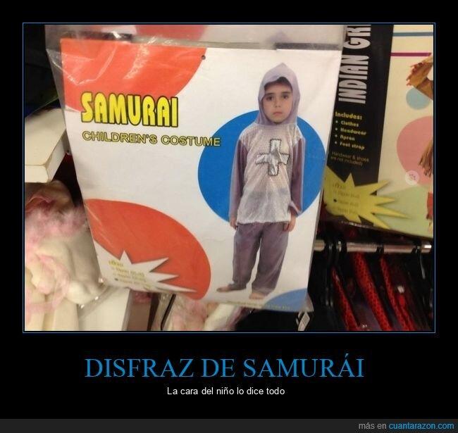 disfraz,fails,samurai