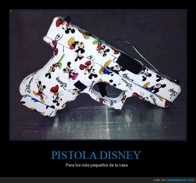 disney,mickey mouse,pistola