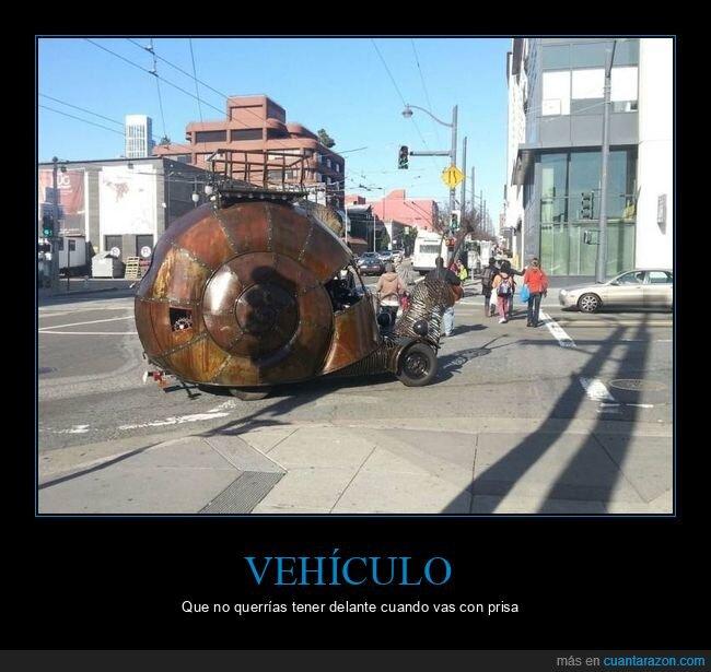 caracol,vehículo,wtf