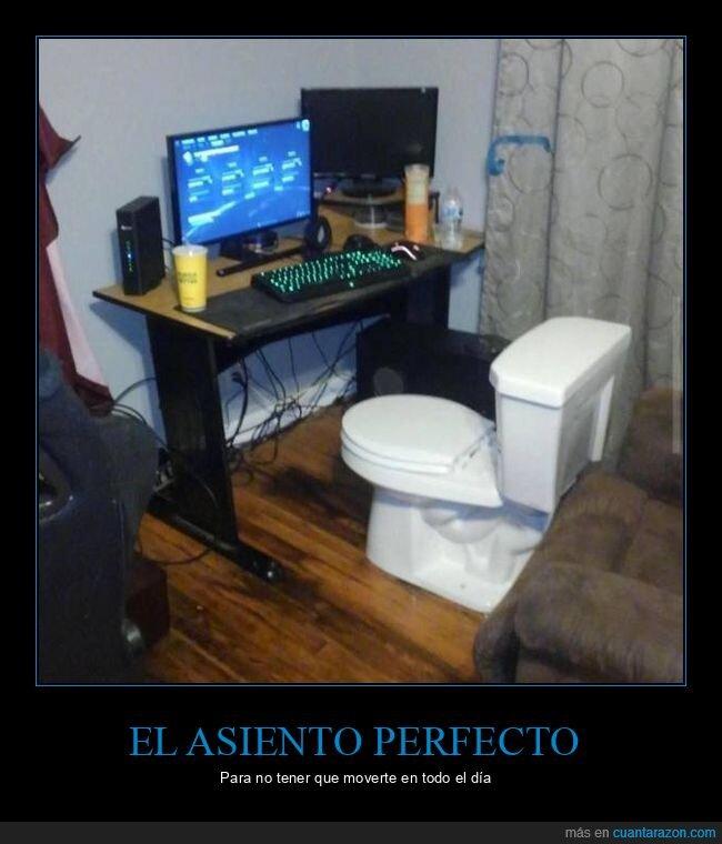 asiento,ordenador,váter